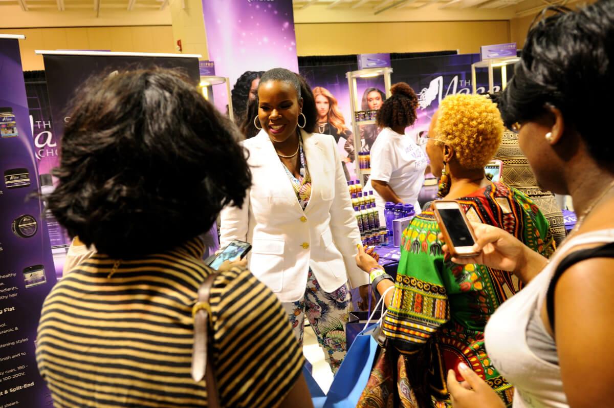 Courtney Adeleye - Founder of the Mane Choice