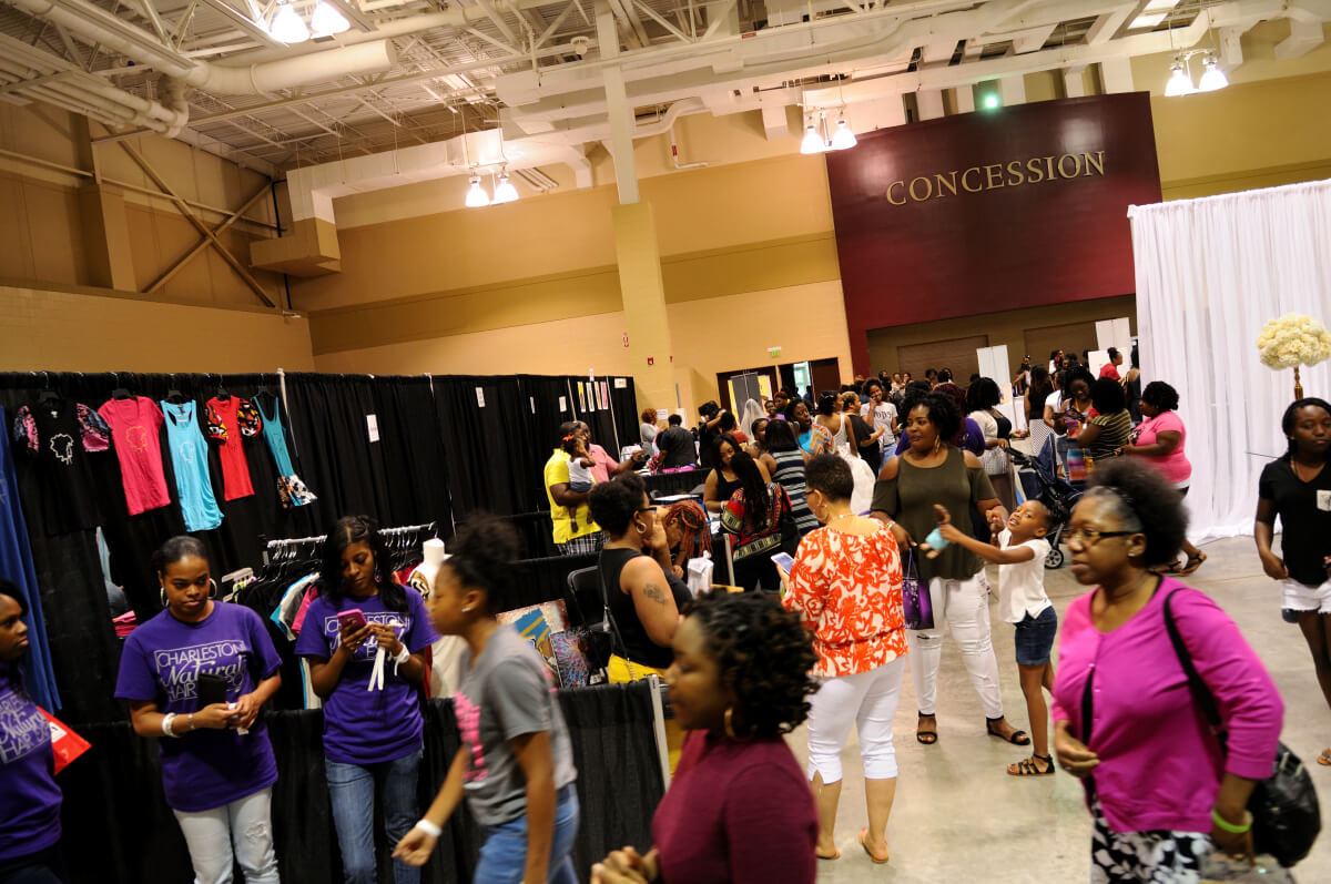 2016 Charleston Natural Hair Expo Attendees