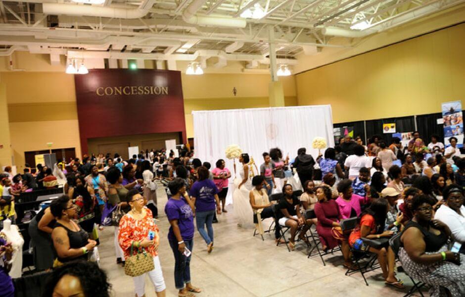 Charleston Natural Hair Expo 2016 attendees