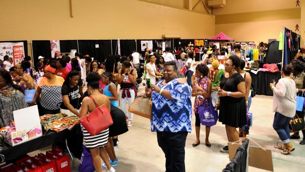 Attendees at the 2016 Charleston Natural Hair Expo